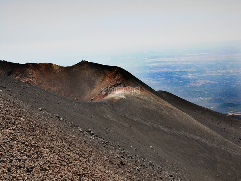 Etna and its craters