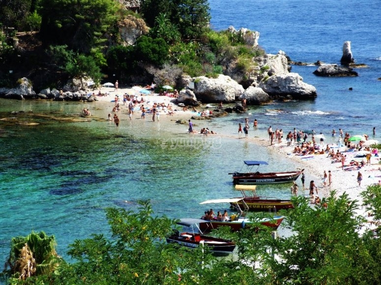 Taormina and Isola Bella