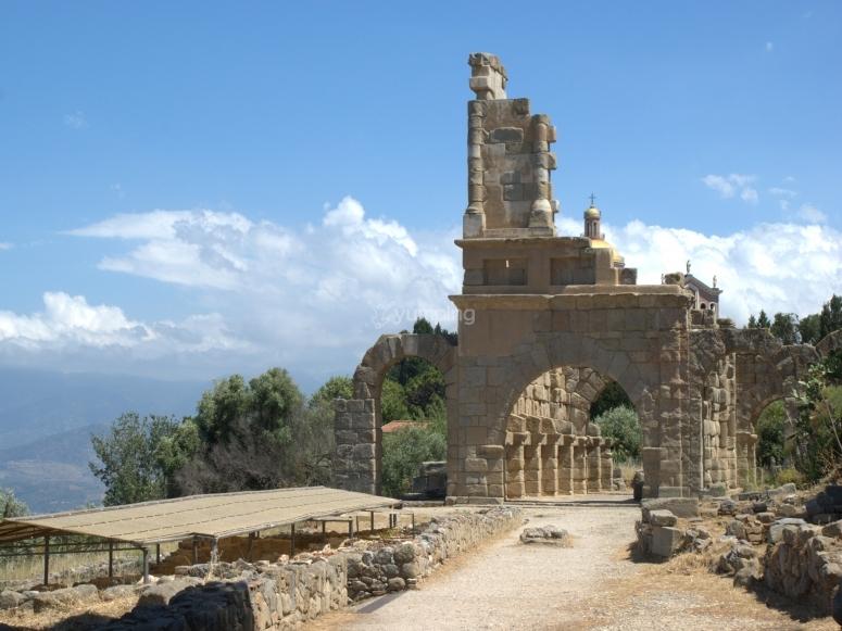 The Greek ruins of Tindari