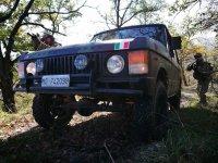 Range rover e guerra