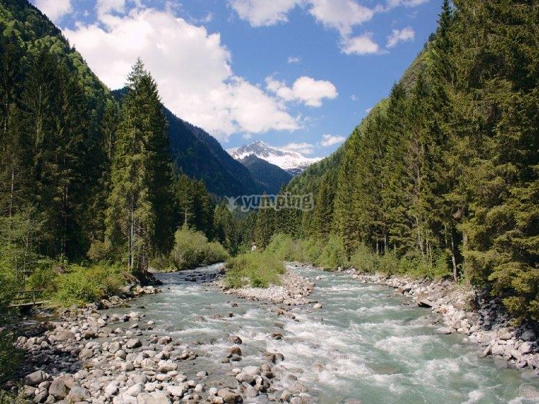 Il parco naturale Adamello Brenta