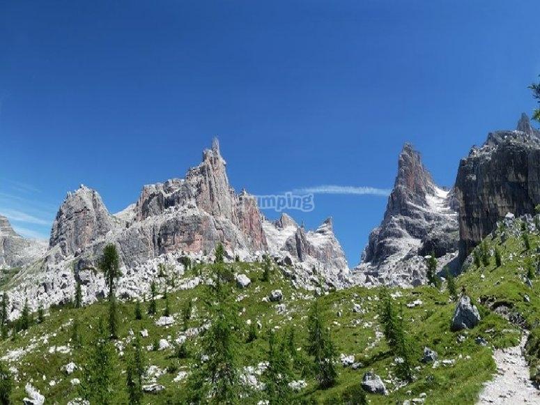 Le maestose Dolomiti del Brenta
