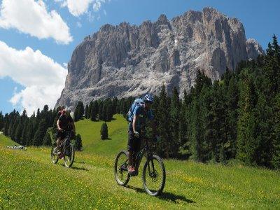 Tour in mountain bike sulle Dolomiti una giornata