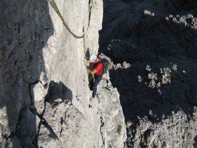 Arrampicata sportiva Dolomiti di mezza giornata