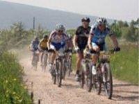 Tour in mountainbike