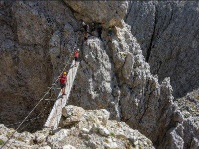 Via Ferrata in the Dolomites 1 day
