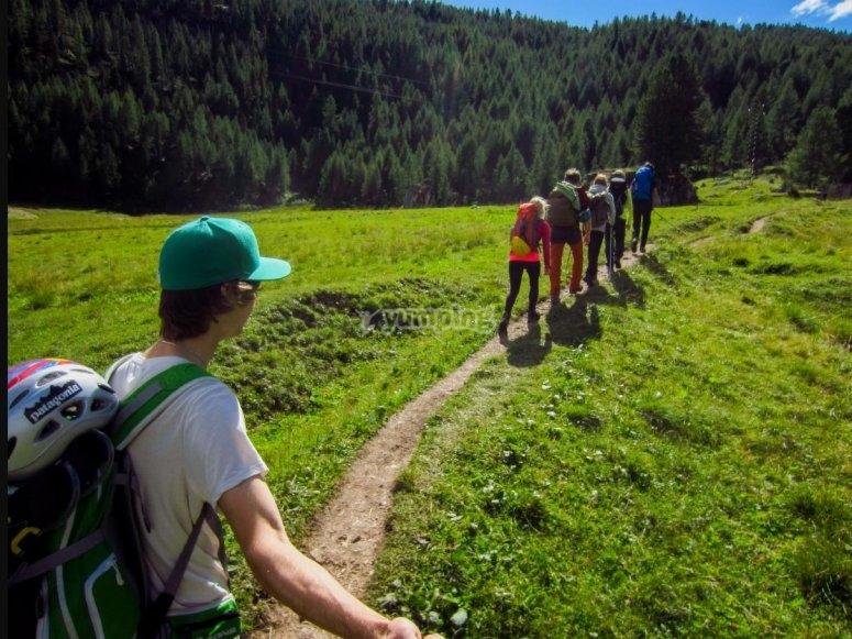 trekking in summer