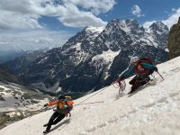 One-week Monviso climb
