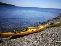 Canoe a riva