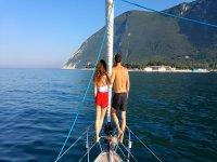 Coppia in barca