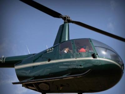 Tour in elicottero sui sassi di Matera di 60minuti