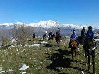 Neve e cavallo
