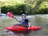 Corsi di kayak per bambini
