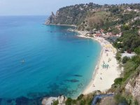 The coast of Calabria