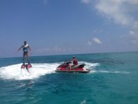 flyboard and jet skis
