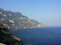 The wonderful Amalfi coast.