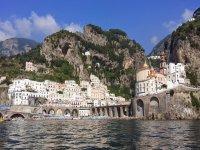 Atrani on the Amalfi Coast.