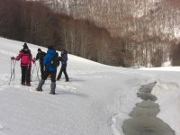 Snowshoeing in the Pollino