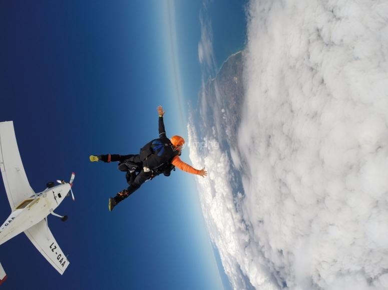 in free fall!