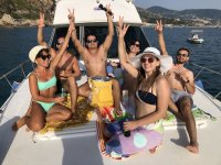 Birthday on boat