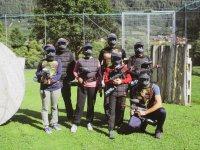 Paintball team.