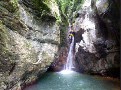 Canyoning in Val di Susa intera giornata