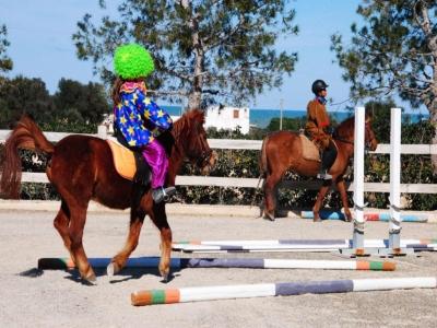 1 hour riding lesson in Fasano