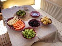 Frutta fresca a bordo
