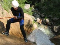 This is the Canyoning