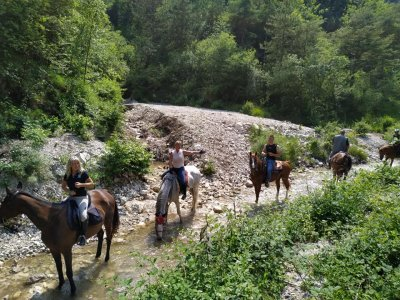 A cavallo a Toscolano Maderno con pranzo 7 ore
