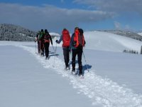 snowshoeing on Etna