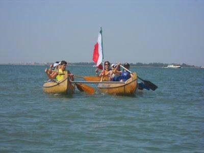 Canoa in Laguna
