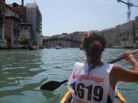 Venezia in canoa