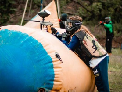 Paintball per bambini a Cassino 2 ore