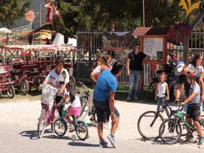 Noleggio mountain bike a Laceno giornata intera