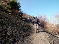 descending mount etna