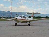 Flying in Montichiari