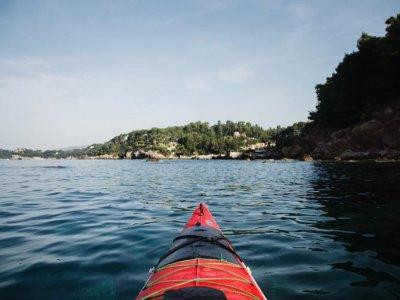 Noleggio canoa nel basso Salento per 60 minuti