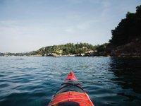 Canoa con vista