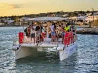 Tour in barca al tramonto da Torre Vado 2 ore