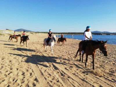Passeggiata a cavallo a Sassari tre ore