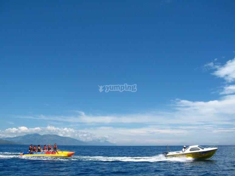 banana boat trainata
