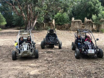 Buggy tour from Quartu Sant'Elena with lunch 3 hours