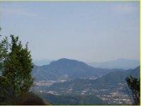 La vista dal Monte Piesco