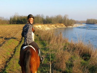 Robecchetto horse ride with Induno 2 hours
