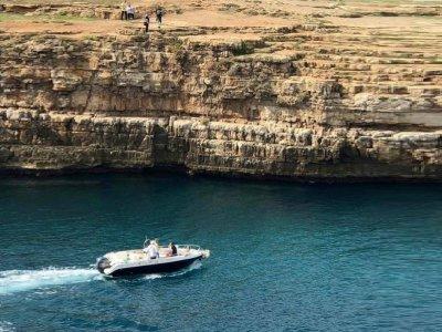 Tour in barca esclusiva Polignano a Mare 1h30