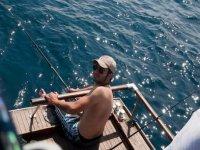 Pesca dalla barca
