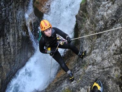 Canyoning facile a Bagno di Romagna 4 ore