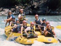 Rafting excursions