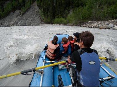 Rafting bambini nel fiume Corno 2 ore